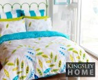 Quilt Cover Set - Fiji Blue 1