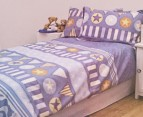 Kids Jelly Bean Commander Single Quilt Cover Set 1