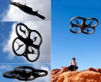 iPhone-Controlled Flying Quadricopter! 3