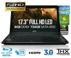 17.3in Full HD Extreme Gaming Notebook 1