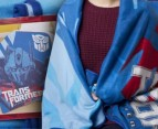 Transformers Winter Fleece Blanket 1