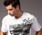 Men's Ecko T-Shirt - Crash Course White 2