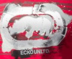 Men's Ecko T-Shirt - Faster Raster Red 3