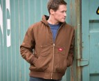 Dickies Hooded Duck Bomber Jacket - Brown 1
