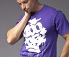 Zoo York Men's Fat & Juicy Tee in Eggplant 2