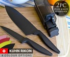 Kuhn Rikon 2-Piece Knife Set + Sharpener 1