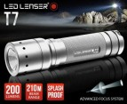 Lenser LED T7 Torch Titanium Finish 1
