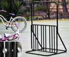 LARGE 6 Bike Steel Rack w/ Helmet Hooks 3