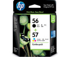 HP 56/57 Ink Cartridge - Black+Tricolour 1