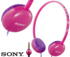 Sony Kids Pink Headphones 1