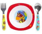 Lamaze 4-Piece Child Feeding Set - Red 5