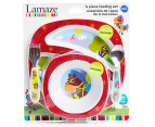 Lamaze 4-Piece Child Feeding Set - Red 1