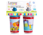 2 x Lamaze Baby 266mL Sippy Cups 2-Pack - Knight Pattern 2