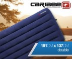 Caribee Velour Double Air Bed 1