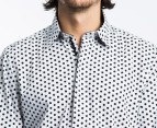 Men's English Laundry Lennon Shirt - White Dot 3