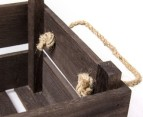 Crate-Style Wooden Boxes 3-Piece Set 3
