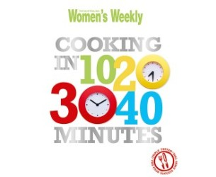 AWW Cooking In 10, 20, 30, 40 Minutes