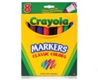 DNU 8 x Crayola Classic Coloured Markers 1