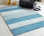Designer Zen Shades Rug - Blue 4