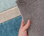 Designer Zen Shades Rug - Blue 3